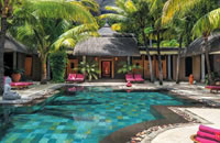 Dinarobin Hotel and Spa pool in Mauritius