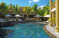 Pool at Le Mauricia Hotel in Mauritius
