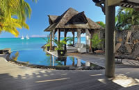 Pool at Royal Palm in Mauritius