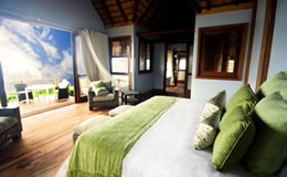 Massinga Beach Resort bedroom