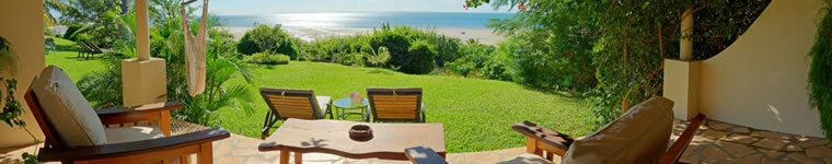 View at Casa Rex in Mozambique