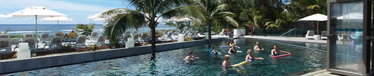Pool at 4* Radisson Blu Poste Lafayette in Mauritius